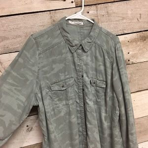 Maurices Plus Size Button Down Top